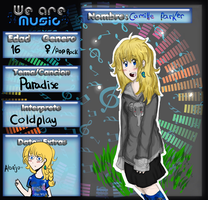 .::We--are--Music - ficha - Camille Parker::. by Elizabeth7535