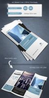 Modern and Corporate Trifold Brochure Template by renefranceschi