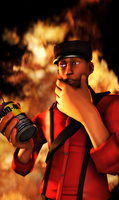 Flammable... Yes? by Sir-Ethin
