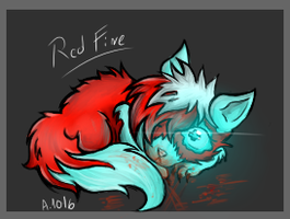 chibi Red fire by Vivex-one