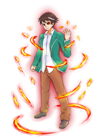 Commission: Aono Tsukune by MagniFire