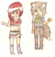 More MORE  new OCs .-. by xOAVRILOx