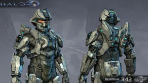 Halo 4: Raider armor by profchaos354