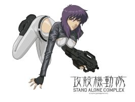 Major Kusanagi by G3isha