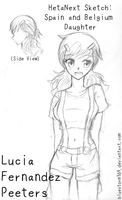 Sketch Dump: SpaBel Child Lucia! by BlueStorm-Studio