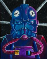 Tie Fighter Pilot by Tao-mell