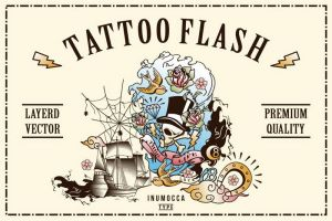 NEW RELEASE - TATTOO FLASH by inumocca