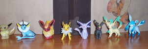 Eevee family complete by Ishtaryasha