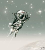 SpaceMan by Anuk