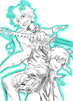 Ao no Exorcist Vector by Byakuran-is-awesome
