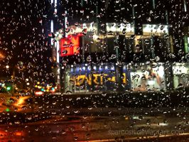 Night Rain by sparcosk