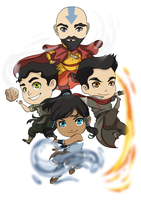 LOK: Four Elements by momofukuu