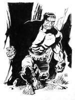 The Incredible Hulk by deankotz