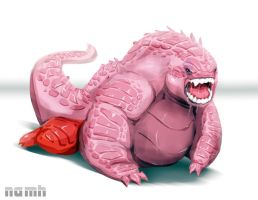 Dragon Kirby by Namh