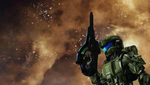 Halo 4 Fiery Destruction by lizking10152011