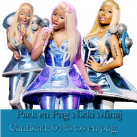 +Pack 03 Png Nicki Minaj by Upinflames12