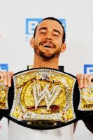 The NEW WWE Champion CM PUNK by Bubbles1253
