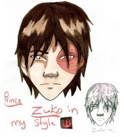 Prince Zuko, My Style by psycobabble402