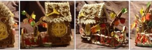 Birthday Ginger Bread House by staceysmile