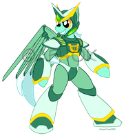 Megamare Lyra X Armor by AnimeFreak40K