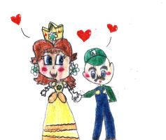 Another Luigi x Daisy pic by PrincessDaisyRocks10
