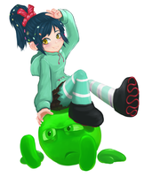 Vanellope also stands for Victory by Kinoukiri