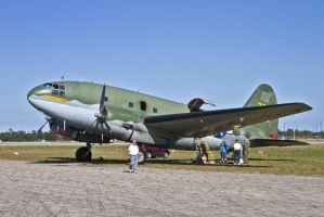 Curtiss C-46 Commando by OpticaLLightspeed