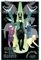 Cirque de Bal Masque Poster by Blue-Umber