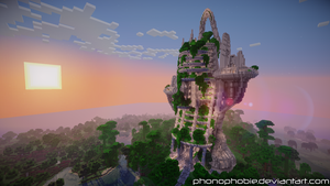 EcoTower Skytree by phonophobie