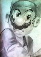 SUPER MARIO by powre