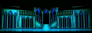 Scenic Design for Beauty and the Beast by yensidtlaw1969