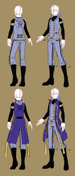 FLD Military Uniform_REDESIGN by STsketch