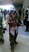 Ezio cosplay Youmacon 2010 by Forcebewitya