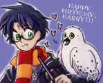 Happy Birthday, Harry!! by arminis