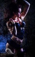 Broken Pinup by Force4Photos
