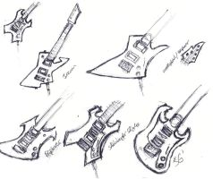 Guitars 2 by robert-the-dammed