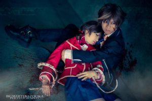 Guilty Crown - Without and Void [spoiler] by gya-inc