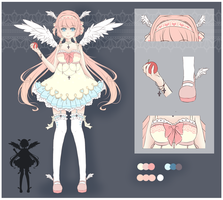 Pastel Angel Adopt [Closed] by CottonPuffAdopties