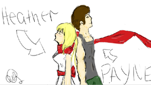 heather and payne teaming up request by Eye-Wuv-Manga124