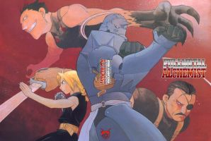 FMA - The battle with sins by TimeOcean