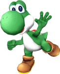 Super Smash Bros for PC: Yoshi by NoahLC