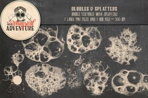 Bubbles And Splatters Brushes by Whimsical-Adventure