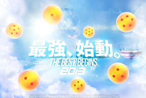 Dragon Ball Z Movie 2013 Promo 'The Best, Begins!' by fsuarez913