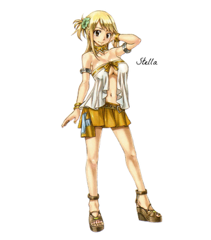 Lucy Heartfilia (14) Render by Stella1994x