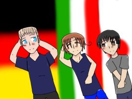 Axis Powers! by goodlucklight