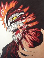 Ichigo Hollow Mask by Goldenchupacabra