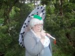 Totoro Cosplay close up by Pixelated-Beauty