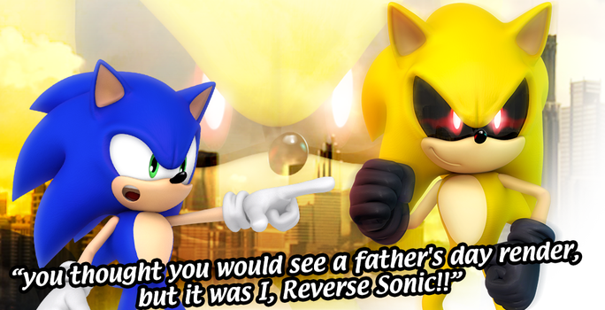 Reverse Sonic Is A Jerk by Nibroc-Rock