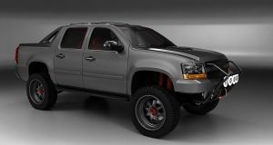 Chevy Avalanche (off road) 1st render by 3dmanipulasi