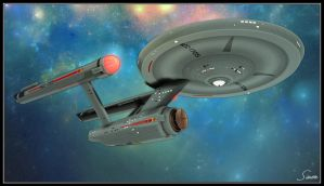 U.S.S. Excalibur NCC-1705 by celticarchie